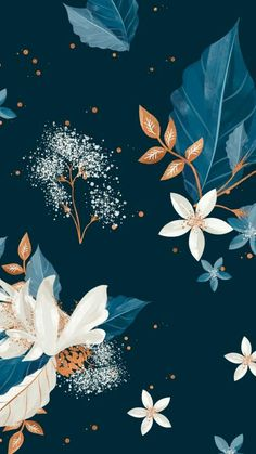 iPhone X Wallpaper Frühling Wallpaper, Flower Wallpaper, Pattern Wallpaper, Wallpaper Backgrounds, Winter Iphone Wallpaper, Floral Wallpaper Iphone, Holiday Wallpaper, Wallpapper Iphone, Whatsapp Wallpaper