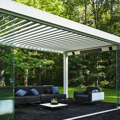 Camargue by Renson contemporary patio