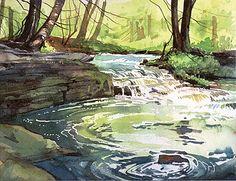 MIGHTY ART DEMOS--Cathy Johnson Watercolor Tutorial
