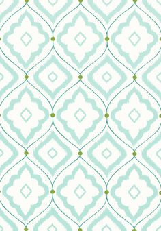 BUNGALOW, Aqua, T16052, Collection Resort from Thibaut