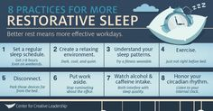 8-practices-for-better-sleep-infographic-center-for-creative-leadership-ccl