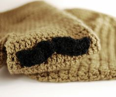 MOUSTACHE MITTENS Gloves Christmas Gift for Man by warmYourself, $27.00