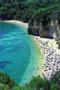 Mogren beach, Budva, Montenegro