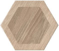 King Wood Nut Hexagon Porcelain Tile 9x11 923 Kitchen