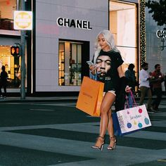 Uploaded by Find images and videos about photography, chanel and shopping on We Heart It - the app to get lost in what you love. Saweetie Icy Grl, Icy Girl, Boujee Aesthetic, Black Girl Aesthetic, Girl Bad, Estilo Converse, Boujee Lifestyle, Instagram Inspiration, Boujee Outfits