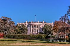 Monuments Photograph - The First Familys Home by Claudia M Photography