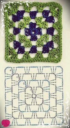 Transcendent Crochet a Solid Granny Square Ideas. Wonderful Crochet a Solid Granny Square Ideas That You Would Love. Crochet Cowel, Crochet Motifs, Crochet Blocks, Granny Square Crochet Pattern, Crochet Diagram, Afghan Crochet Patterns, Crochet Chart, Crochet Squares, Easy Crochet