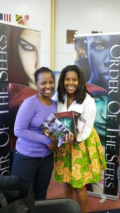 Me at the 1st Annual PG County Book Festival with a new reader!