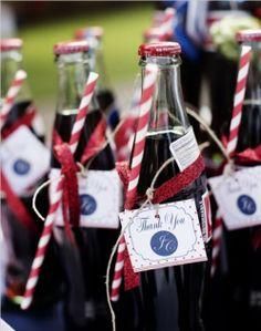 red wedding#red#wedding#drink#coca cola ❀❀❀  ADD #diy http://www.customweddingprintables.com