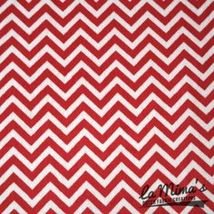 NEW!!! Supersoft Mini Chevron Rood/Wit Imagine the softest fabric ever... This fabric is even softer than that! New in The Netherlands & Belgium. Real must have!