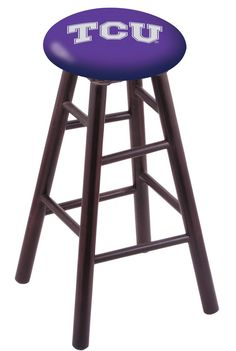 TCU Counter Stool RC24MSDCTEXCHR  #coolstuff #gameroom #recroom#CUSTOMMADE #TCU #CounterStool