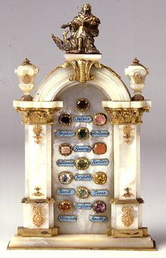 A jewelled bronze, mother of pearl and gilded symbolic 'gate to heavenly Jerusalem' by J S Meyer. (© Rheinisches Bildarchiv/Museum Schnütgen)