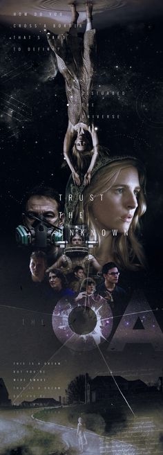 "Pôster de fã feito para a série ""The OA"", que é transmitida pela Netflix.  / A fanmade poster to the Netflix original serie, ""The OA""."