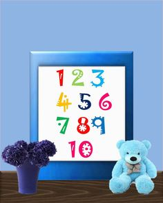Check out this item in my Etsy shop https://www.etsy.com/listing/265325582/nursery-number-art-printable-wall-art