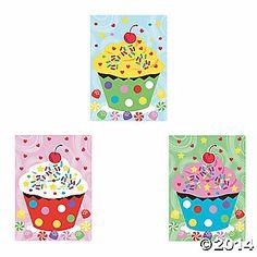 Cupcake Sticker Scenes