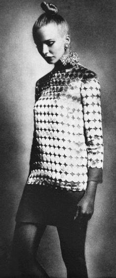 1969 Maudie James is wearing Christian Dior
