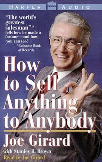 """How to Sell Anything to Anybody by Joe Girard.  @ Canterbury Tales Bookshop * Book exchange * Guesthouse * Cafe ** Pattaya.  Joe Girard, """"the world's greatest salesman,"""" shares the system of salesmanship that has made him a renowned success in his field."""