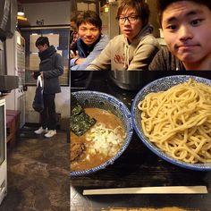 昨日の夜食べに行きました #狼煙 #突然のはると #つけ麺 #特盛 #次はまぜそば by ippei_miyamoto