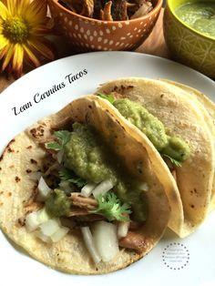 Lean Carnitas Tacos Recipe #Porknostico [ad]