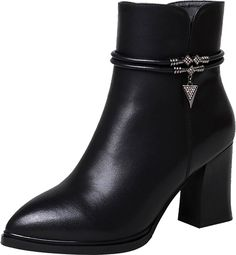 ELEHOT Womens EleOlympic 7.5CM mid-heel Boots * Details can be found by clicking on the image.
