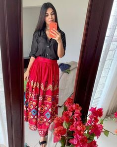 Indian Outfits, Ethnic, Floral, Skirts, Clothes, Design, Fashion, Outfits, Moda