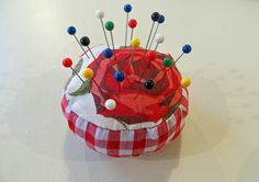 How to make a pin cushion sewing tutorial - SEW IT WITH LOVE I ...