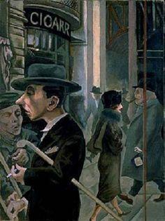 George Grosz  1893 - 1959    Street Scene 1925