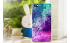 22 Pattern Case For Huawei Ascend P8 Lite Colorful Printing Drawing Plastic Hard Cover for Huawei P8 Lite Transparent Phone Case