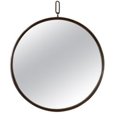 """Contemporary Mirror with Rope Hanging 
