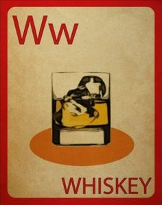 W is for whiskey