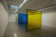 Daniel Buren à la galerie Kamel Mennour | qu'est-ce que l'art ...