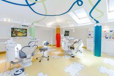 Cea mai frumoasă clinică stomatologică pentru copii. Da, este în București! - Designist