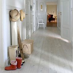 The floors I want in my house...    PERGO BLEACHED PINE Accolade Laminate Flooring w/pad attached PJ2618