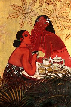 Tea Time II | by Tim Nguyen #TimNguyen #Lacquer #CedarStreetGalleries