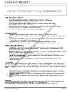E- Zásobník ZIMA 01 + BONUS :: školka-přípravy