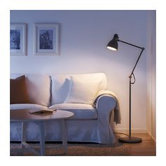 IKEA ARÖD floor/reading lamp Provides a directed light that is great for reading.
