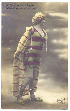 bygonefashion: 1890s-1920s bathing suit fashion409 x 644 | 29.5 KB | bygonefashion.livejournal.c...