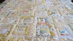 What a fun time I had making this quilt.  My sewing room was upside down for weeks with light and neutral fabric strips.  It was a happy m...