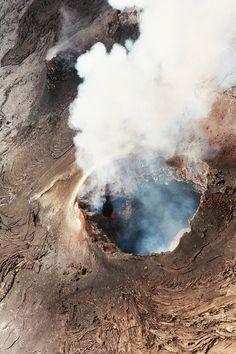 Hawaiian active volcano -- byRosy Romano