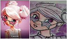 How to Draw Cassie from Disney Star Darlings