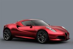 Alfa Romeo 4C - Not your father's Alpha