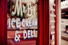 Mr. B's Ice Cream & Deli in Historic Downtown Branson