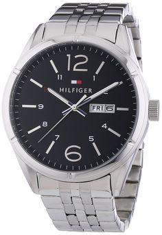 Tommy Hilfiger 1791071 Silver Stainless Steel Men's Watch. 1791071 3 ATM - 30 meters - 99 feet Quartz Men