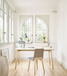 Mesas de Trabajo Belharra Table Espacios de Trabajo Jean Louis Iratzoki