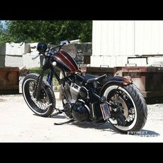 Harley | Bobber Inspiration - Bobbers and Custom Motorcycles October 2014