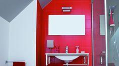 Il tuo bagno... in rosso!