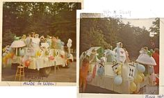 """Beverly Farms """"4th of July Horribles"""" parade, Alice in Wonderland float - 1967"""