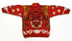 'tiger' jumper by Joseph Tricot