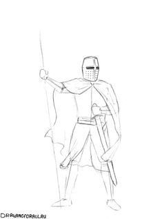 Medieval Drawings, Art, Dibujo, Drawings, Knight, Drawing Drawing, Art Background, Kunst, Performing Arts