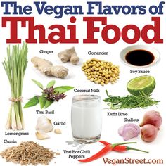 Vegan Flavors of Thai Food